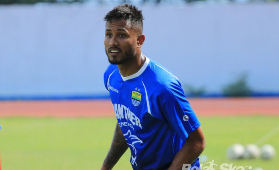 Striker Persib Bandung Wander Luiz Sudah Bebas dari Virus Corona