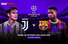 Prediksi Juventus Vs Barcelona: Tidak Ada Reuni Pertemuan Cristiano Ronaldo dan Lionel Messi