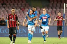 6 Statistik Menarik Pertemuan AC Milan Vs Napoli