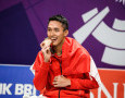 Kurang Persiapan, Jonatan Christie Kandas di Japan Open 2018