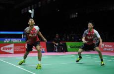 Fajar / Rian Angkat Koper Lebih Cepat dari Korea Masters 2018