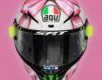 Sambut Sang Buah Hati, Rossi Pakai Helm Khusus