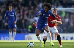 Chelsea 2-2 Manchester United: Gol Ross Barkley Hindarkan Chelsea dari Kekalahan