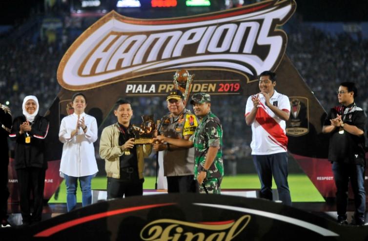 Jakmania Suporter Terbaik Piala Presiden 2019, CEO Persija Punya Pesan