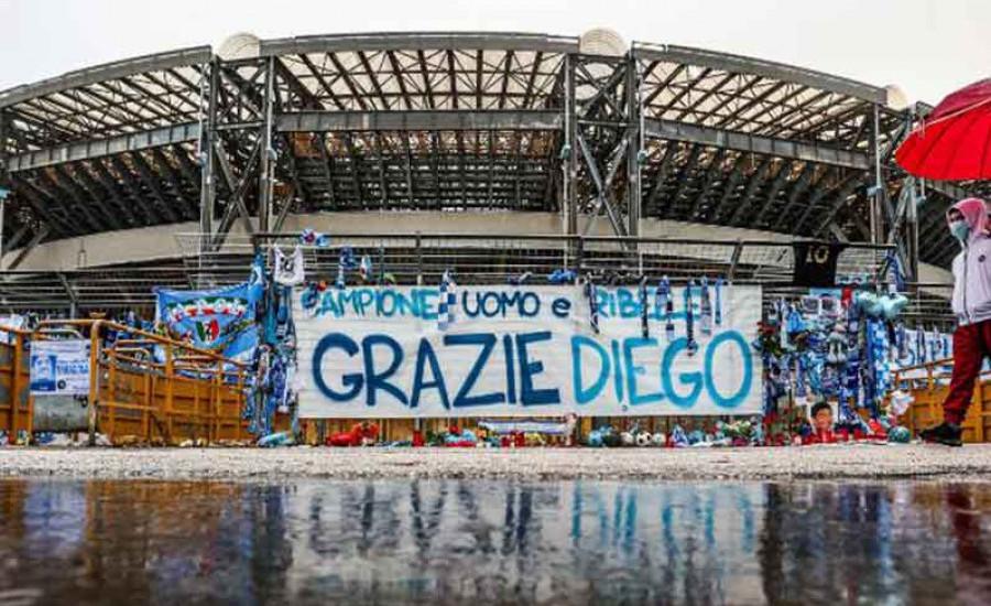 Napoli Resmikan Stadion Diego Armando Maradona