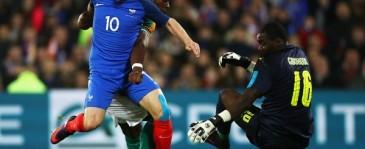 Hasil Laga Uji Coba: Perancis vs Pantai Gading Berakhir Imbang