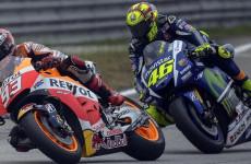 Hubungan Menegang dengan Rossi, Marquez Sempat Diminta Tidak Finis