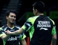 Juara Singapore Open 2018, Ahsan / Hendra Berhasil Pecah Telur
