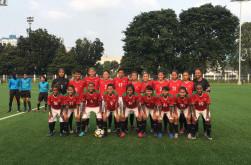 Timnas Wanita Indonesia Kalah Telak 0-13 dari Thailand