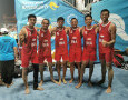 Tim Voli Pantai Indonesia Rebut Medali Perunggu World Beach Games 2019