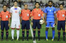 Wasit Filipina Pimpin Laga Uji Coba Indonesia vs Myanmar