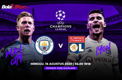 Prediksi Manchester City Vs Olympique Lyon: Ujian Mental Juara The Citizens