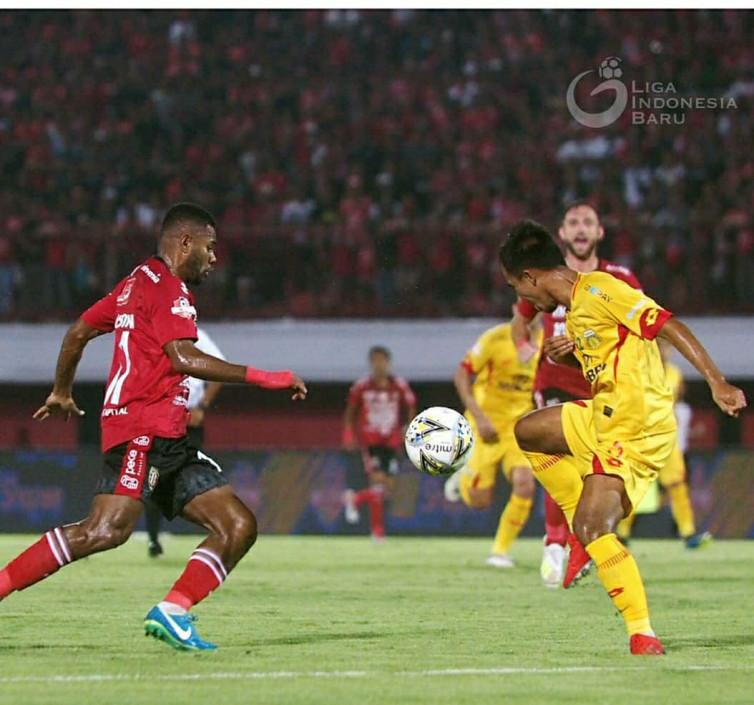 Bali United 1-0 Bhayangkara FC: Serdadu Tridatu Berhasil Putus Tren Negatif