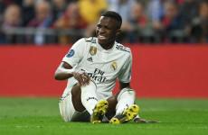 Cedera Engkel Kaki Kanan, Vinicius Dikabarkan Absen Dua Bulan Bela Real Madrid
