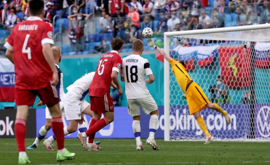 Piala Eropa 2020 - Finlandia 0-1 Rusia: Persaingan Grup B Jadi Sengit