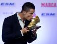 Cristiano Ronaldo Ucapkan Selamat untuk Luka Modric dan Mohamed Salah