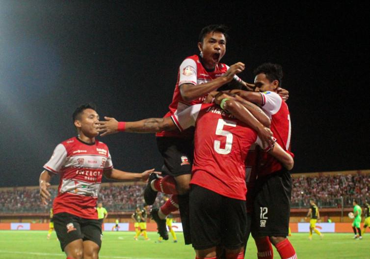 Syarat Madura United Ikut Lanjutan Liga 1