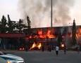 Markas Persela, Stadion Surajaya Terbakar Jumat Pagi