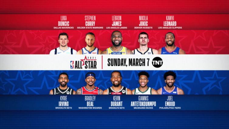 NBA All-Star: James Pilih Giannis, Irving Gabung Durant