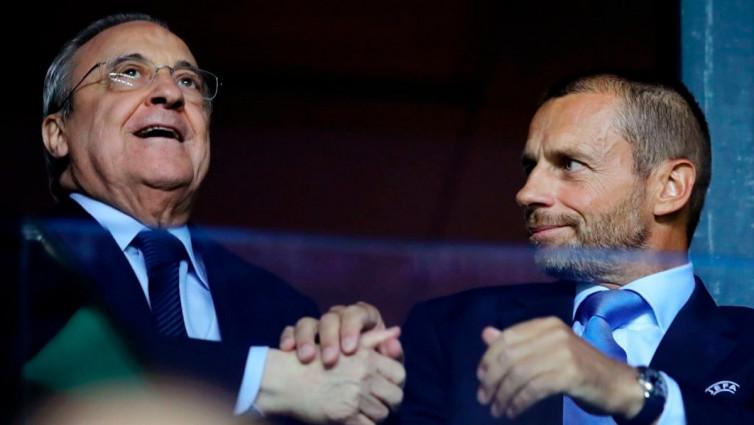 Tegas, Presiden UEFA Ultimatum Madrid, Barcelona, Juventus, dan Milan