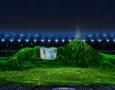 Gunung dan Air Terjun Menjadi Latar Panggung Pembukaan Asian Games 2018