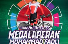 Medali Perak Asian Para Games 2018 Sesuai Target M. Fadli
