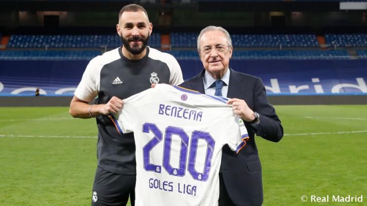 Makna di Balik 200 Gol Karim Benzema di LaLiga