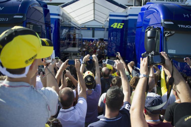 Valentino Rossi Akan Berusaha Maksimal untuk Puaskan Pendukungnya di Misano