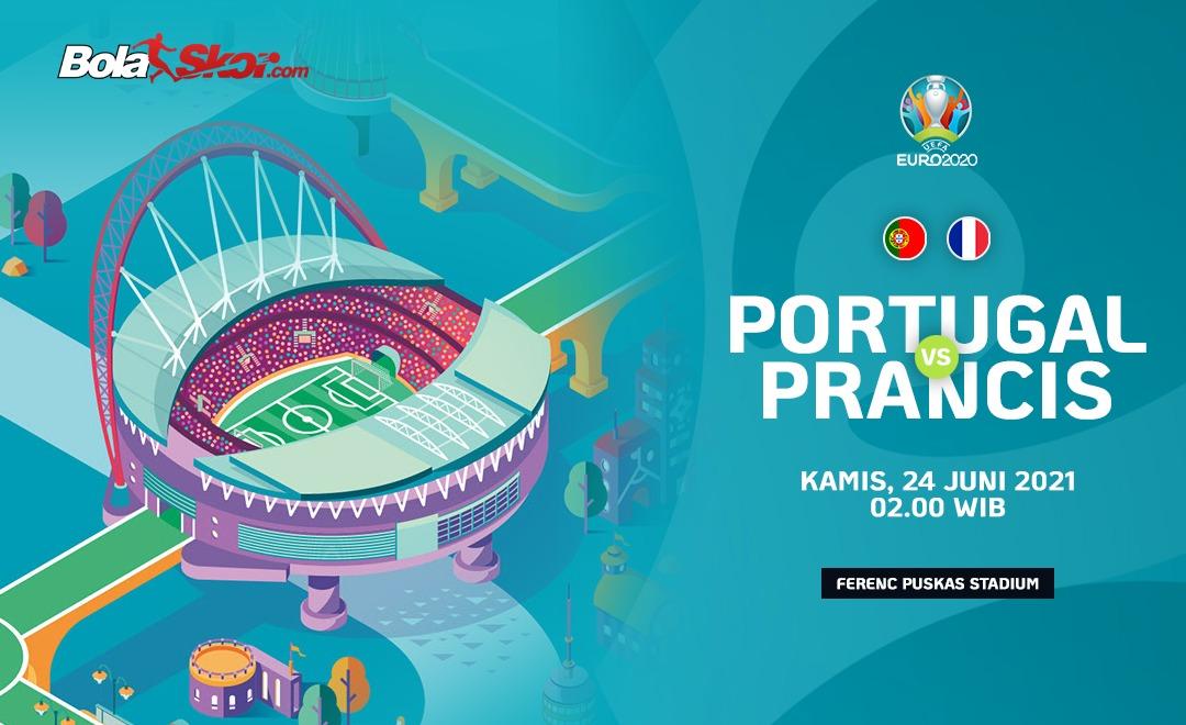 Piala Eropa 2020: Portugal Vs Prancis, Les Bleus Mendominasi