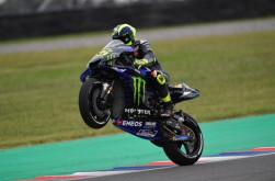 Soal Senggolan dengan Marquez, Rossi Tidak Merasa Salah