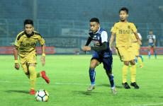 Rivaldi Bauwo Tahan Sakit di Balik Dua Golnya dalam Kemenangan Arema FC