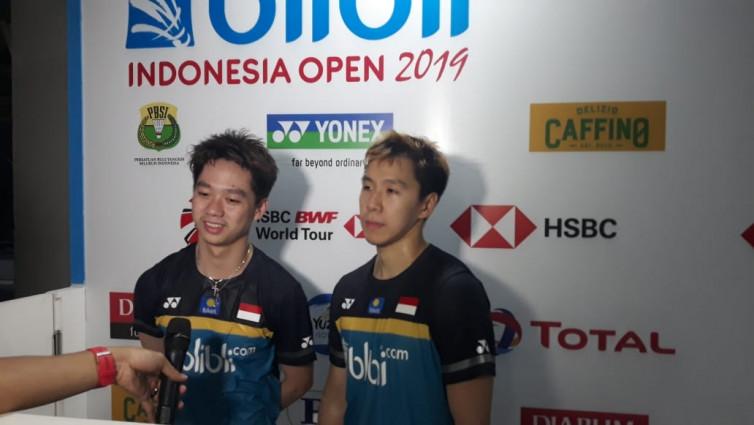 Ke Semifinal Indonesia Open 2019, Kevin / Marcus Ogah Remehkan Lawan