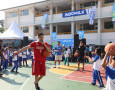 Pebasket Nasional Ikut Ramaikan Asian Games Goes to School