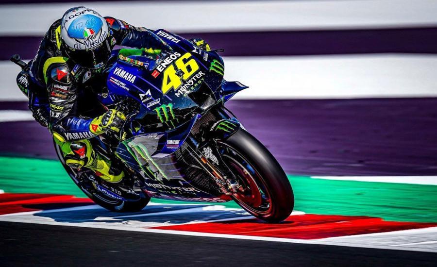 Hasil MotoGP San Marino: Disalip di Lap Akhir, Rossi Gagal Podium