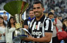 5 Gol Terbaik Carlos Tevez bersama Juventus