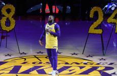 Luapan Hati LeBron James dan Penghormatan Terakhir Lakers untuk Kobe Bryant