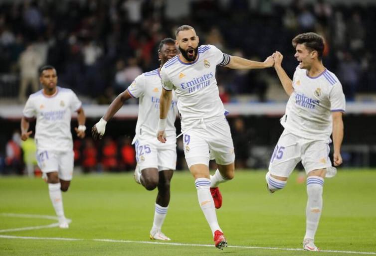 Hasil Laga Liga-liga Eropa: Real Madrid Pesta Gol, Milan Jaga Momentum
