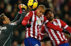 Sengit, Atletico Madrid Vs Valencia Masih Nihil Gol Babak Pertama