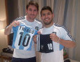 Aguero: Messi Bukan Orang Planet Bumi!