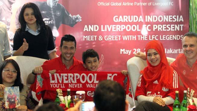 Ratusan Big Reds Temui Trio Legenda Liverpool